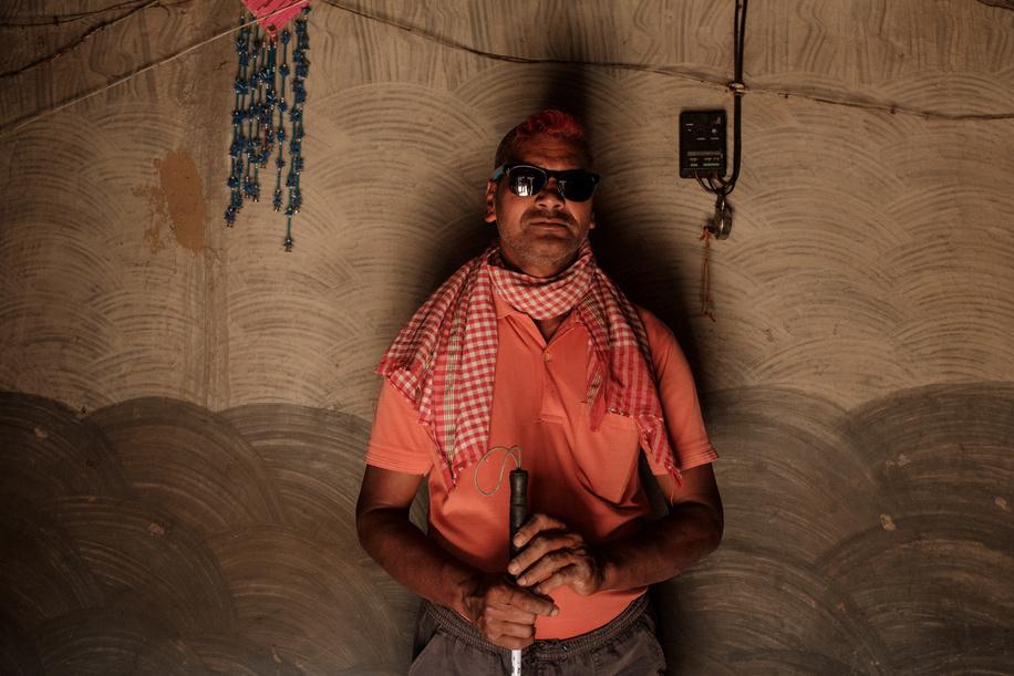 India Vision September 2019.  Portrait of Bhuban Roy.
