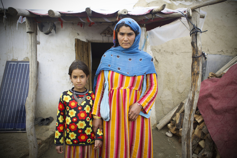Displaced Afghan families from Kunduz province live in their temporary shelter at the Pul-e-Campany refugee camp in Kabul, Afghanistan.   Most families were forced to flee their homes in southern Afghanistan due to Taliban fighting and are forced to spend the harsh winter season at the camp in poverty.