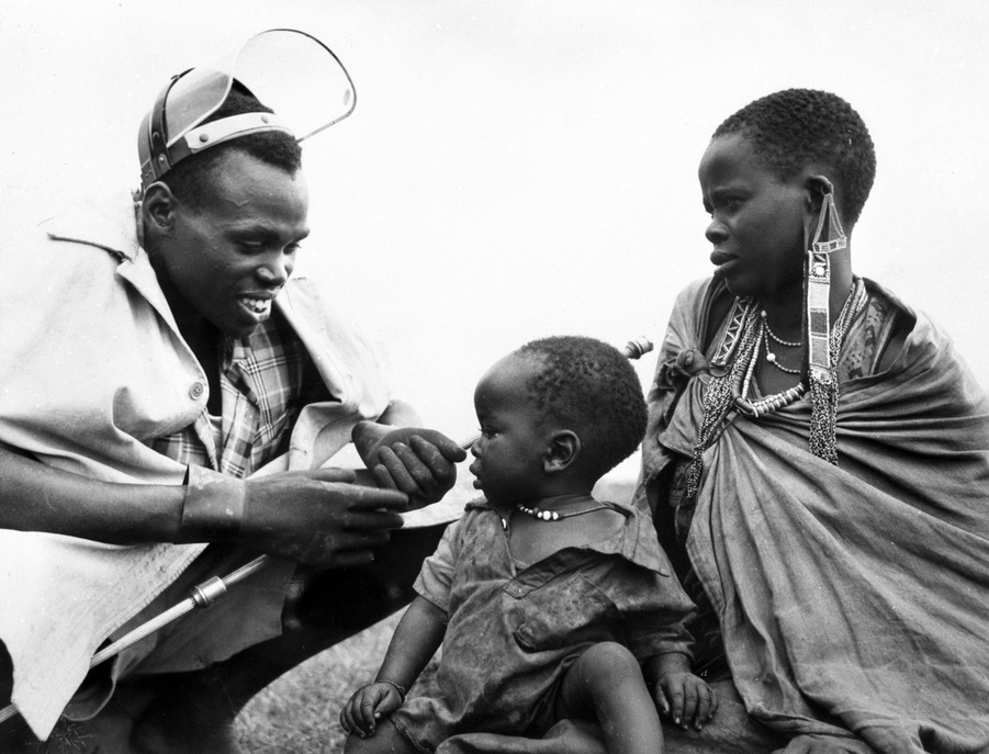 Malaria was unknown among the Nandi of Kenya until the beginning of the 20th century. But with the growth of communications that followed the coming of civilization, the