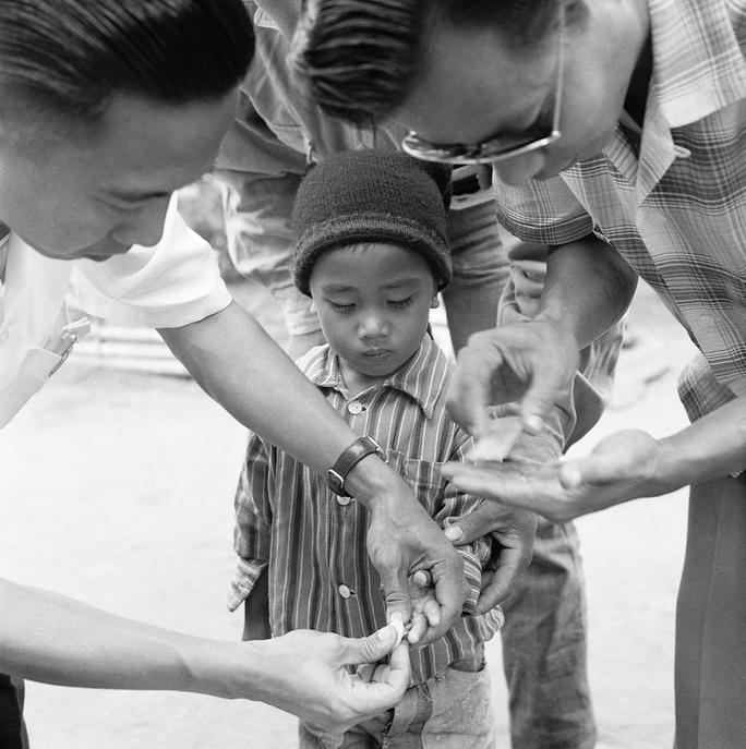 Malaria eradication among the