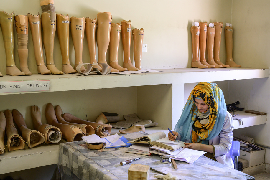Prothesis and Orthosis specialist at the Artificial Limb Centre of the Fauji Foundation Hospital (OPD Complex) in Rawalpindi, Pakistan.