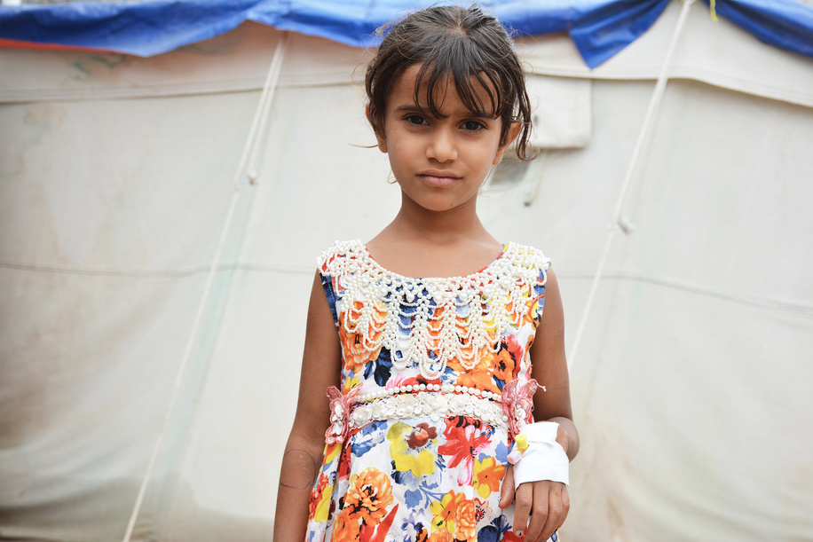 WHO and partners' humanitarian response to cholera outbreak in Yemen. - Caption was not provided by the photographer. Therefore, a generic caption has been applied to this image.