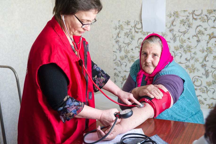 Primary Health Care in Ukraine - Caption was not provided by the photographer. Therefore, a generic caption has been applied to this image.