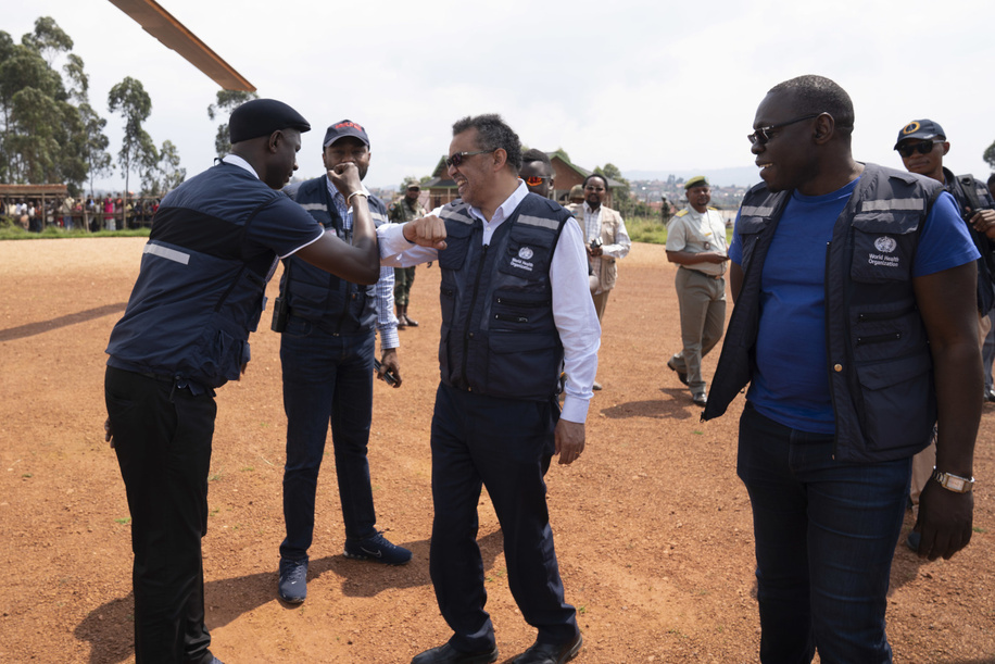 WHO's response to Ebola virus disease (EVD) outbreak in the Democratic Republic of Congo.  WHO Director-General, Dr Tedros Adhanom Ghebreyesus says goodbye to WHO Staff.