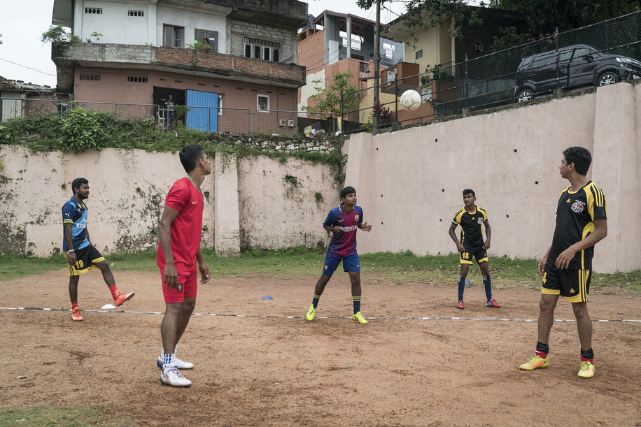 Primary Health Care in Sri Lanka  A range of groups exercise and play sport at the sports field in the Colombo suburb of Kolonnawa. Exercise is an important preventative measure to ensure good health and combat noncommunicable diseases.
