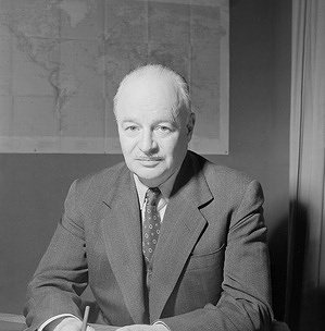 Dr Brock Chisholm (Canada), former Director-General of the World Health Organization, from 1948 to 1953.  c. 1948 - c. 1953