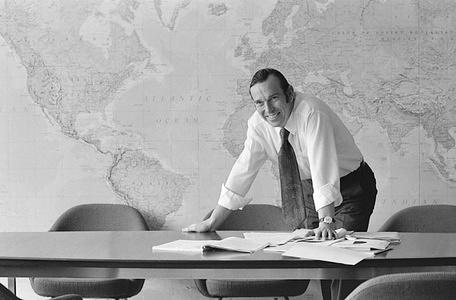 Dr Halfdan T. Mahler (Denmark), former Director-General of the World Health Organization, from 1973 to 1988.