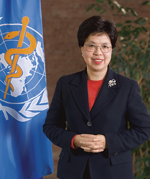 Dr Margaret Chan, former Director-General of the World Health Organization, from 2006 to 2017.