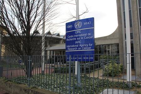 International Agency for Research on Cancer (Centre international de recherche sur le cancer) - IARC  Front side of the IARC building.