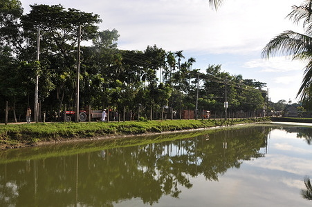 Water treatment plant in Bangladesh  Treatment works inspection at Chandpur Paurashva treatment plant.
