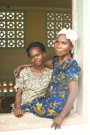 Ebola virus disease (EVD) outbreak in the Democratic Republic of Congo.  Ebola survivors Solange Boliko and Odette Mputu find support in each other after they both contracted Ebola in May 2018 in Itipo. They are attending a meeting of the National Ebola Survivors Association meeting.
