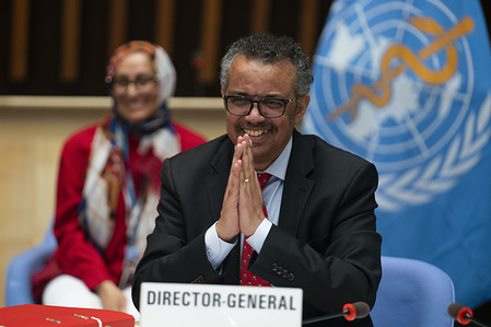 147th session of the WHO Executive Board, Geneva, Switzerland, 22 May 2020.  WHO Director-General, Dr Tedros Adhanom Ghebreyesus at the conclusion of  EB147. The 147th session of the WHO Executive Board was held virtually on Friday 22 May 2020.