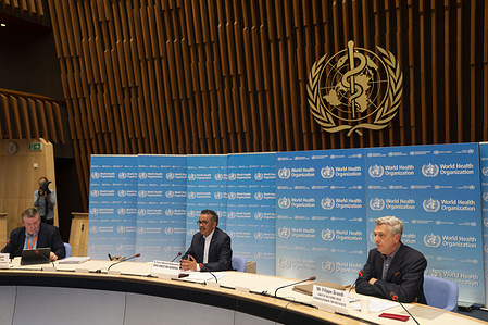 WHO Director-General, Dr Tedros Adhanom Ghebreyesus joined by Filippo Grandi, UN High Commissioner for Refugees for the COVID-19 Daily Press Conference 19 June 2020  See WHO Director-General's opening remarks at the media briefing on COVID-19 (19 June 2020):   <a target='_blank' href='https://www.who.int/dg/speeches/detail/who-director-general-s-opening-remarks-at-the-media-briefing-on-covid-19---19-june-2020'>https://www.who.int/dg/speeches/detail/who-director-general-s-opening-remarks-at-the-media-briefing-on-covid-19---19-june-2020</a>