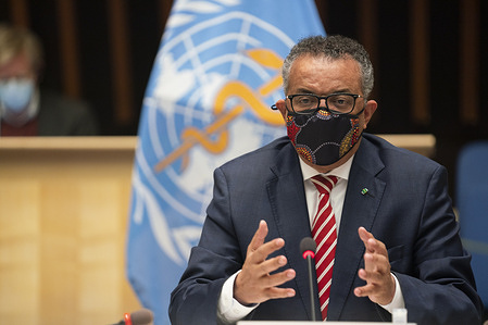 Executive Board: Special session on the COVID-19 response, Geneva, Switzerland, 5 – 6 October 2020 - Hybrid event (virtual and presential) - WHO Director-General, Dr Tedros Adhanom Ghebreyesus - WHO Director-General, Dr Tedros Adhanom Ghebreyesus, following consultation with the Board Chair, has called for an Executive Board special session on the coronavirus disease (COVID-19) response to follow up on the WHA73.1 resolution approved by Member States earlier in May. The meeting will provide an opportunity to discuss with Member States, and seek their guidance on, the developments around the efforts to implement the strategic preparedness and response plan, as well as the actions taken to initiate the review by an independent panel.  This is the 5th special session of the WHO Executive Board and the meeting will take place on 5-6 October 2020 as a hybrid meeting combining in person and online participation, to respect safety measures. One delegate from each Member State represented on the Executive Board (EB) will gain entry to WHO to participate in person. Other Member State representatives, observers, invited representatives of the United Nations and other participating inter-governmental organizations and non-State actors will attend online.