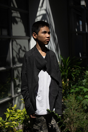 Krittithee Wayuchot, 13, stands for a portrait at the Ramathibodi Poison Center in Bangkok, Thailand, on  11 January 2021. Seven years ago, Krittithee received treatment from the poison center in Ramathibodi for lead poisoning after accidentally being shot in the leg with a lead bullet. Prompt clinical diagnosis and laboratory analysis helped to confirm the need for specialized antidotes to counter the effects of lead poisoning.  Ramathibodi Poison Center was designated a WHO Collaborating Centre for the Prevention and Control of Poisoning in 2018 and assists WHO to improve the accessibility of antidotes for the treatment of poisoning; build capacities for the prevention and control of poisoning and in monitoring trends in the prevalence of poisoning in different countries. WHO recommends the establishment of poisons centres in all countries. Currently fewer than half of WHO Member States have a poisons centre.