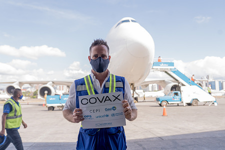 On 11 March 2021 Guatemala became the third country in the Region of the Americas (after Colombia and Peru) to receive COVID19 vaccine through COVAX.   COVAX, the vaccines pillar of the Access to COVID-19 Tools (ACT) Accelerator, is co-led by the Coalition for Epidemic Preparedness Innovations (CEPI), Gavi, the Vaccine Alliance and WHO working in partnership with developed and developing country vaccine manufacturers, UNICEF, PAHO Revolving Fund,the World Bank, and others. It is the only global initiative that is working with governments and manufacturers to ensure COVID-19 vaccines are available worldwide to both higher-income and lower-income countries.